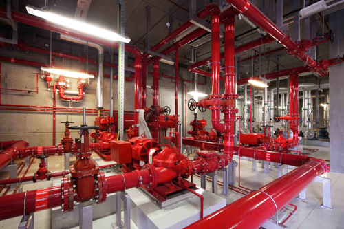 Fire Pump Room Equipment Safelincs